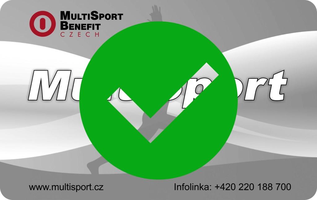 Od pondělí 27.4 opět přijímáme Multisport, Activepass karty budou platné od 1.5.